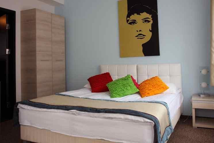 Standard duplaágyas szobák